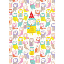 Load image into Gallery viewer, Owl Eyes On You Birthday Greeting Card 6 pack