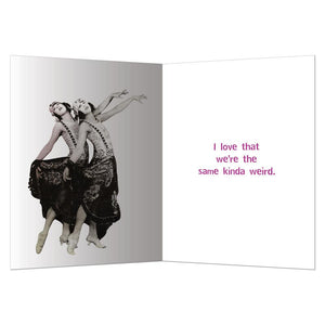 Drunk And Disorderly Friendship Greeting Card 6 pack