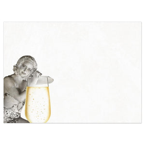Bubbly Diet Birthday Greeting Card 6 pack