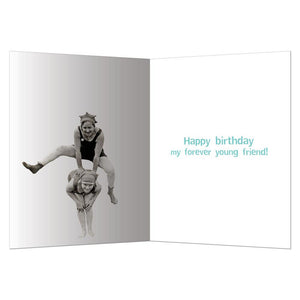 Having Fun Birthday Greeting Card 6 pack
