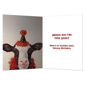 Holy Cow Birthday Greeting Card 6 pack