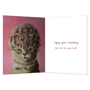 Marie Catoinette Birthday Greeting Card 6 pack