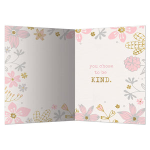 Be Kind Thank You Greeting Card 6 pack
