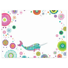 Load image into Gallery viewer, True To Yourself Narwhal Birthday Greeting Card 6 pack