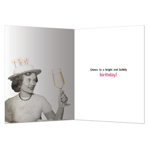 Getting Lit Up Birthday Greeting Card 6 pack