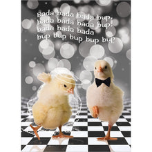 Load image into Gallery viewer, Chicken Dance Wedding Wedding Greeting Card 6 pack
