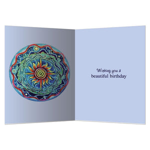 Celebrating The Day Birthday Greeting Card 6 pack