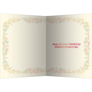 Birthday Dreams Birthday Greeting Card 6 pack
