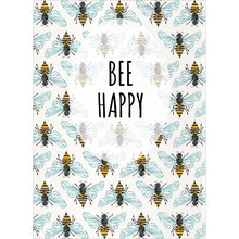 Load image into Gallery viewer, Bee Happy All Occasion Greeting Card 6 pack