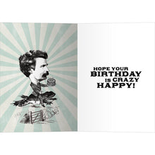Load image into Gallery viewer, Sanity And Happiness Birthday Greeting Card 6 pack