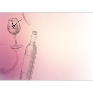 Wine O'Clock Birthday Greeting Card 6 pack