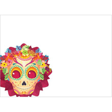 Load image into Gallery viewer, Sugar Skull Birthday Birthday Greeting Card 6 pack