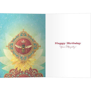 Queen For A Day Birthday Greeting Card 6 pack