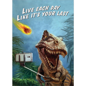 No Tomorrow Birthday Greeting Card 6 pack