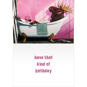 Relaxing Birthday Birthday Greeting Card 6 pack