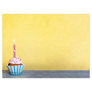 Birthday Calories Birthday Greeting Card 6 pack