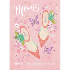 Moms Shoes Greeting Card 6 Pack