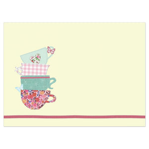 Grandma Tea Cups Mother's Day Greeting Card