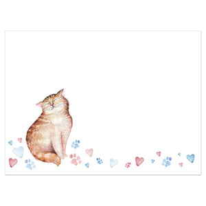 Cat Mom Greeting Card 6 Pack