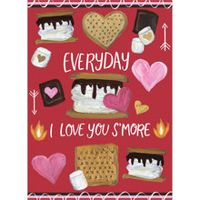 Load image into Gallery viewer, Smore Love Valentine's Day Greeting Card 4 pack