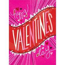 Load image into Gallery viewer, Bold Valentine Valentine's Day Greeting Card 4 pack