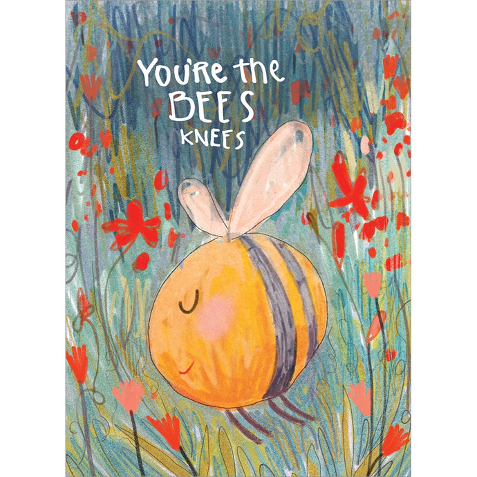 Bees Knees Valentine's Day Greeting Card 4 pack