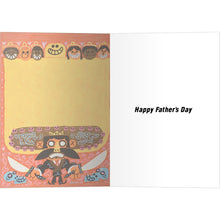 Load image into Gallery viewer, Macho Papa Father's Day Greeting Card 4 pack