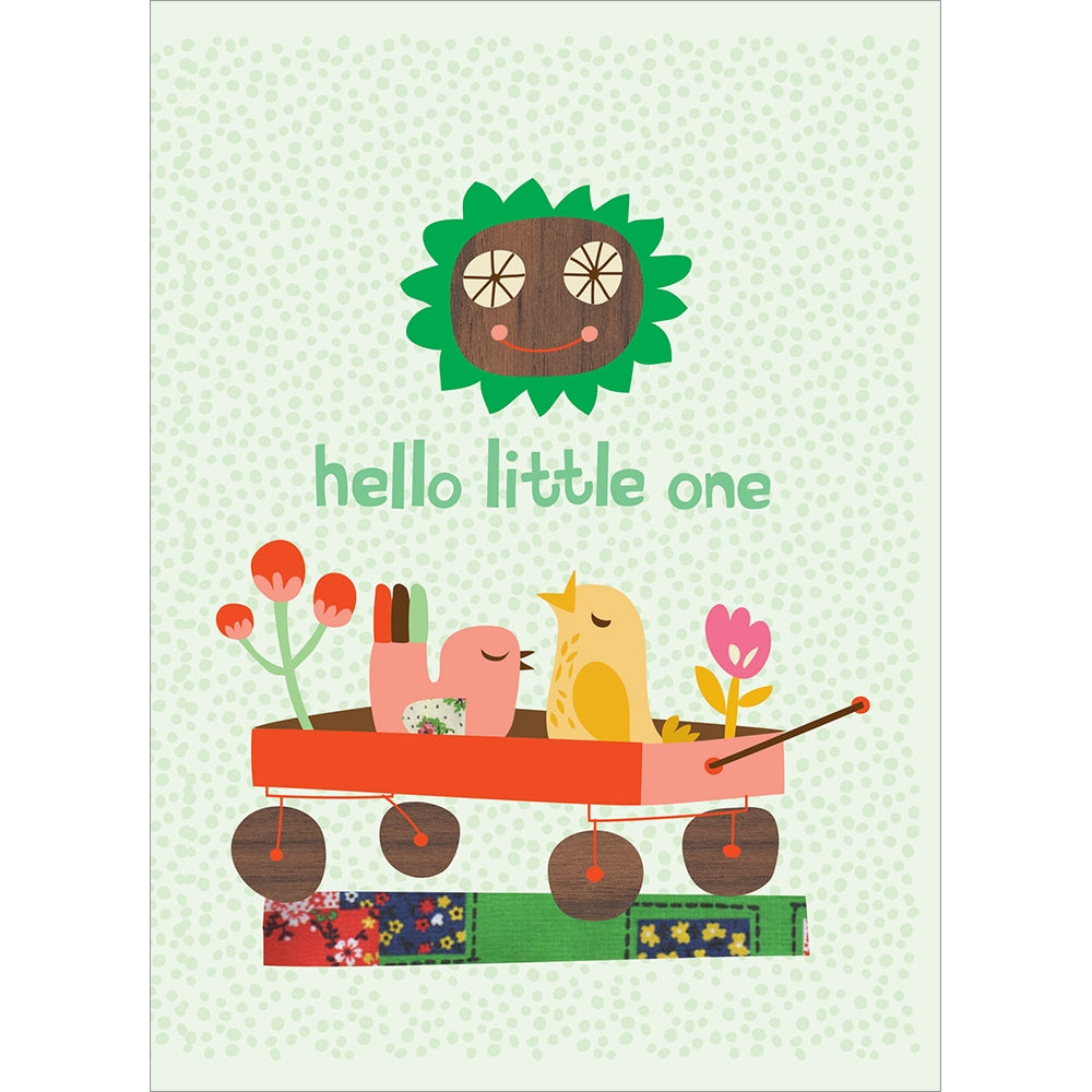 Little One New Baby Greeting Card 6 pack