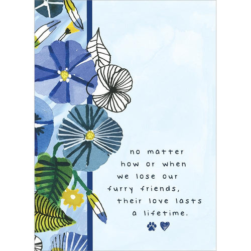 Send This Furry Friends Love Pet Sympathy Card