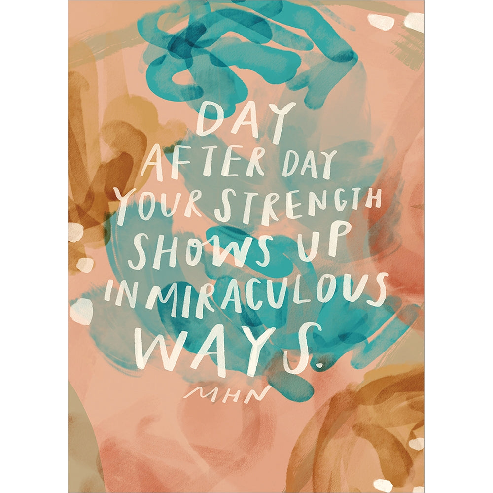 Miraculous You Support Greeting Card 6 pack