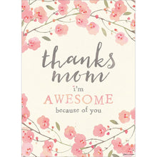 Load image into Gallery viewer, Send This Awesome Mom Floral Mother's Day Greeting Card