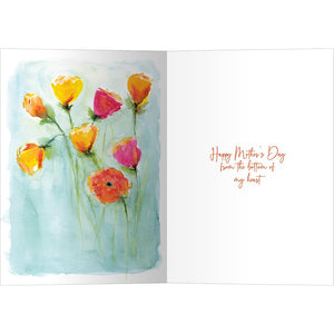 A Mothers Heart Mother's Day Greeting Card 4 pack