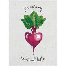 Load image into Gallery viewer, Send This Heart Beet Valentine's Day Card