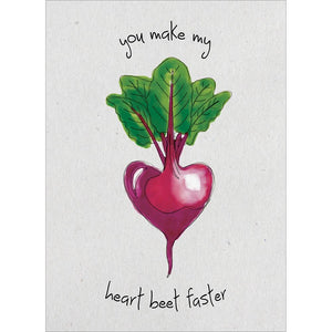 Send This Heart Beet Valentine's Day Card