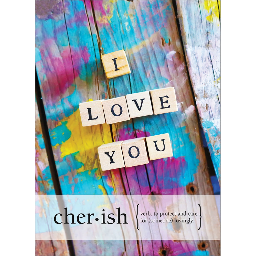 Vibrant Love You Anniversary Greeting Card 6 pack