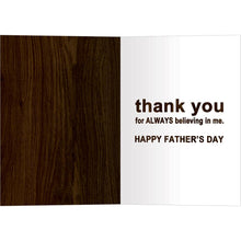 Load image into Gallery viewer, Greatest Gift Father's Day Greeting Card 4 pack