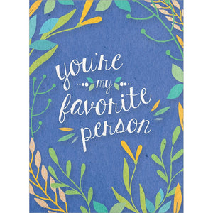 Send This Favorite Person Floral   Card