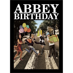 Abbey Birthday Birthday Greeting Card 6 pack