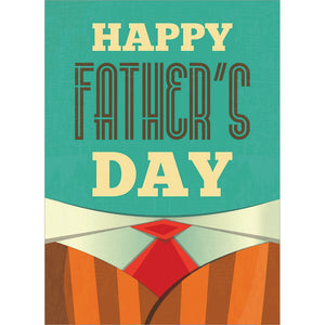 Timeless Fathers Day Father's Day Greeting Card 4 pack