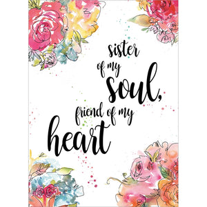Soul Sister All Occasion Greeting Card 6 pack