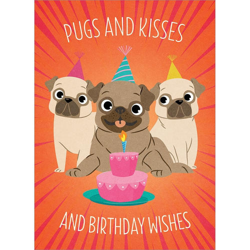Send This Pugs And Kisses Card