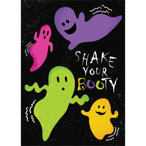 Shake Your Booty Greeting Card 4 Pack