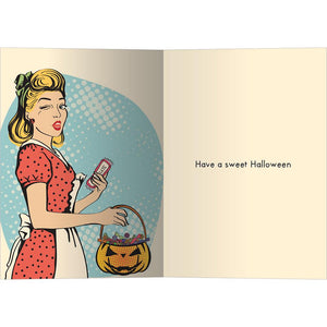 5 Pounds of Candy Greeting Card 4 Pack