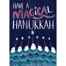 Load image into Gallery viewer, Magical Hanukkah Greeting Card