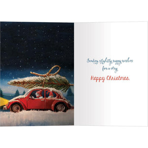 Sappy Christmas Greeting Card 4 Pack