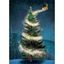 Load image into Gallery viewer, Magical Reindeer Greeting Card 6 Pack