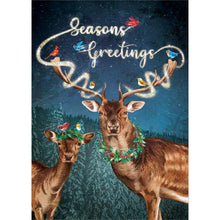 Load image into Gallery viewer, Magical Seasons Greetings Greeting Card