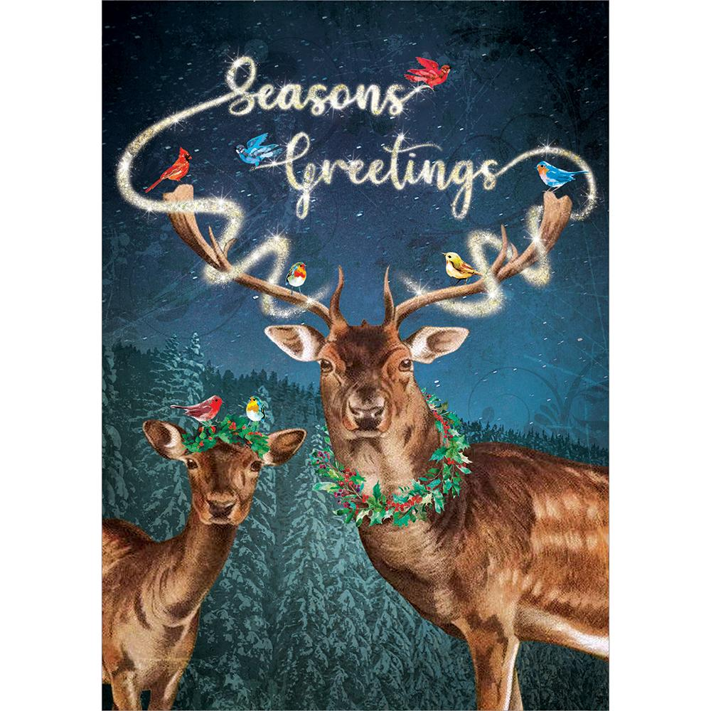 Magical Seasons Greetings Greeting Card