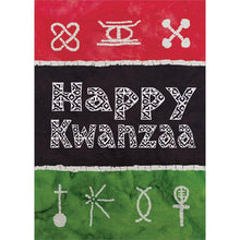 Load image into Gallery viewer, Send This Batik Kwanzaa Card
