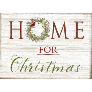 Home Christmas Greeting Card